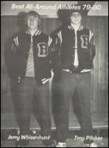 1980 Broken Bow High School Yearbook Page 232 & 233