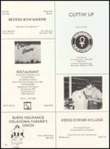 1980 Broken Bow High School Yearbook Page 240 & 241