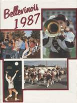 1987 Yearbook Belleville Township West High School