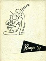 1958 Yearbook Roosevelt High School
