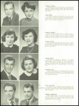 1952 Cedarburg High School Yearbook Page 16 & 17