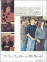 1987 Lakota High School Yearbook Page 16 & 17