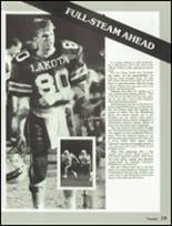 1987 Lakota High School Yearbook Page 22 & 23