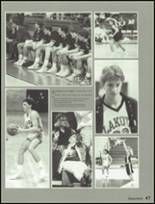 1987 Lakota High School Yearbook Page 50 & 51