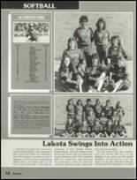 1987 Lakota High School Yearbook Page 72 & 73