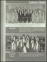 1987 Lakota High School Yearbook Page 106 & 107
