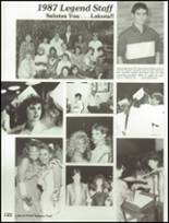 1987 Lakota High School Yearbook Page 126 & 127