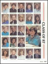 1987 Lakota High School Yearbook Page 166 & 167