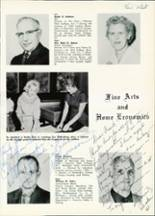 1961 Central High School Yearbook Page 14 & 15