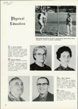 1961 Central High School Yearbook Page 16 & 17