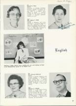 1961 Central High School Yearbook Page 20 & 21