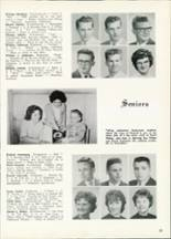 1961 Central High School Yearbook Page 28 & 29