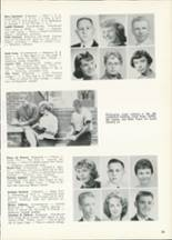 1961 Central High School Yearbook Page 32 & 33