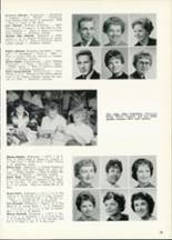 1961 Central High School Yearbook Page 36 & 37