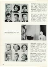 1961 Central High School Yearbook Page 38 & 39