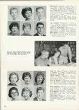1961 Central High School Yearbook Page 40 & 41
