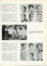1961 Central High School Yearbook Page 42 & 43