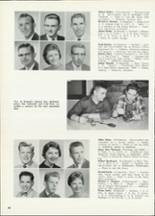 1961 Central High School Yearbook Page 44 & 45