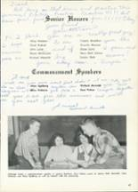 1961 Central High School Yearbook Page 50 & 51