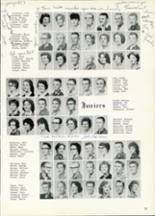 1961 Central High School Yearbook Page 54 & 55