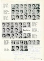 1961 Central High School Yearbook Page 56 & 57