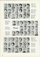 1961 Central High School Yearbook Page 58 & 59