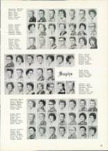 1961 Central High School Yearbook Page 60 & 61