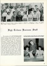 1961 Central High School Yearbook Page 72 & 73