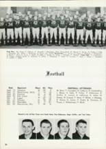 1961 Central High School Yearbook Page 100 & 101