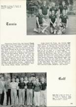 1961 Central High School Yearbook Page 108 & 109