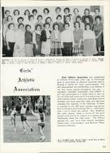 1961 Central High School Yearbook Page 110 & 111