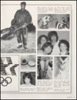 1984 Red Oak High School Yearbook Page 38 & 39