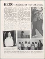 1984 Red Oak High School Yearbook Page 70 & 71