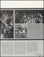 1985 Bluffton High School Yearbook Page 16 & 17