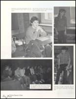 1985 Bluffton High School Yearbook Page 50 & 51