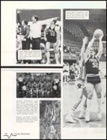 1985 Bluffton High School Yearbook Page 72 & 73