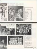 1985 Bluffton High School Yearbook Page 74 & 75