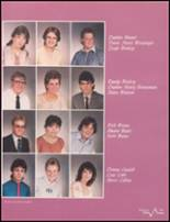 1985 Bluffton High School Yearbook Page 102 & 103