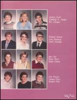 1985 Bluffton High School Yearbook Page 110 & 111