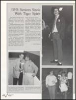 1985 Bluffton High School Yearbook Page 112 & 113