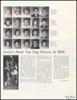 1985 Bluffton High School Yearbook Page 116 & 117