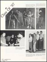 1985 Bluffton High School Yearbook Page 122 & 123