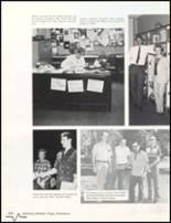 1985 Bluffton High School Yearbook Page 154 & 155