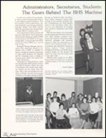 1985 Bluffton High School Yearbook Page 156 & 157