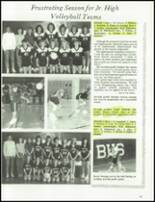 1989 Bloomfield High School Yearbook Page 144 & 145