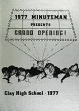 1977 Yearbook Clay High School
