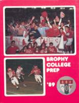 1989 Yearbook Brophy College Preparatory School