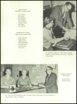 1961 Homer High School Yearbook Page 12 & 13