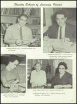 1961 Homer High School Yearbook Page 14 & 15