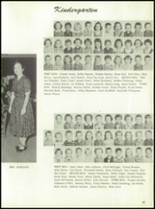 1961 Homer High School Yearbook Page 20 & 21